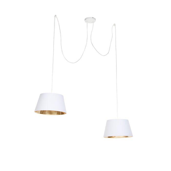 Lámpara-colgante-moderna-blanca---LOFTY