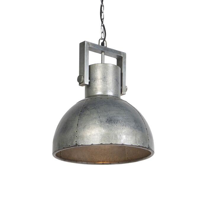Lámpara-colgante-industrial-de-hierro-40cm--SAMIA