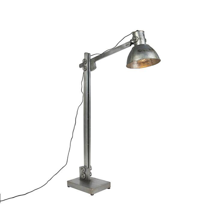 Lámpara-de-pie-industrial-hierro---SAMIA