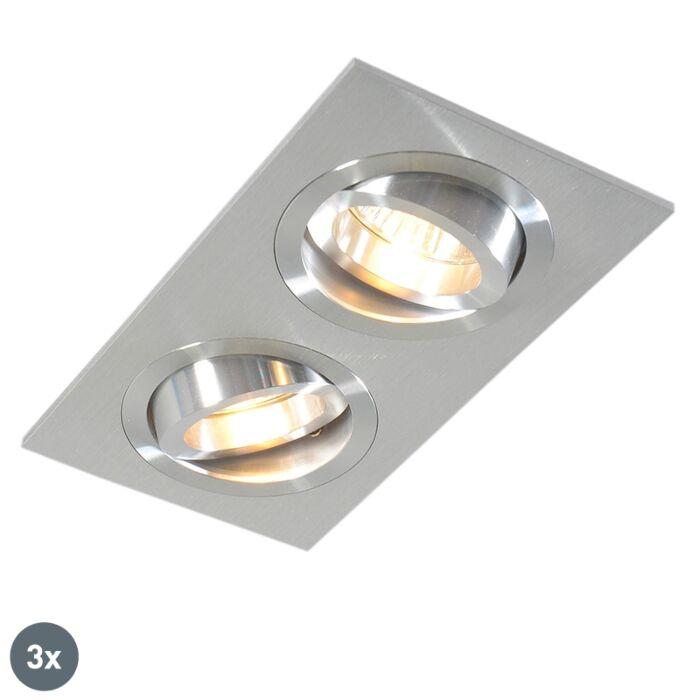 Set-3-focos-empotrables-aluminio-orientables---LOCK-2