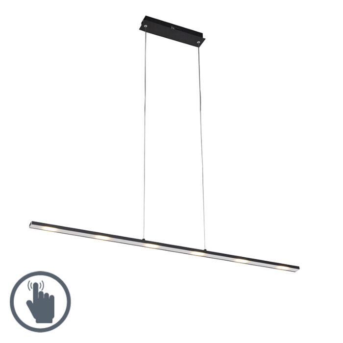 Lámpara-colgante-diseño-negra-regulador-táctil-LED---PLATINA