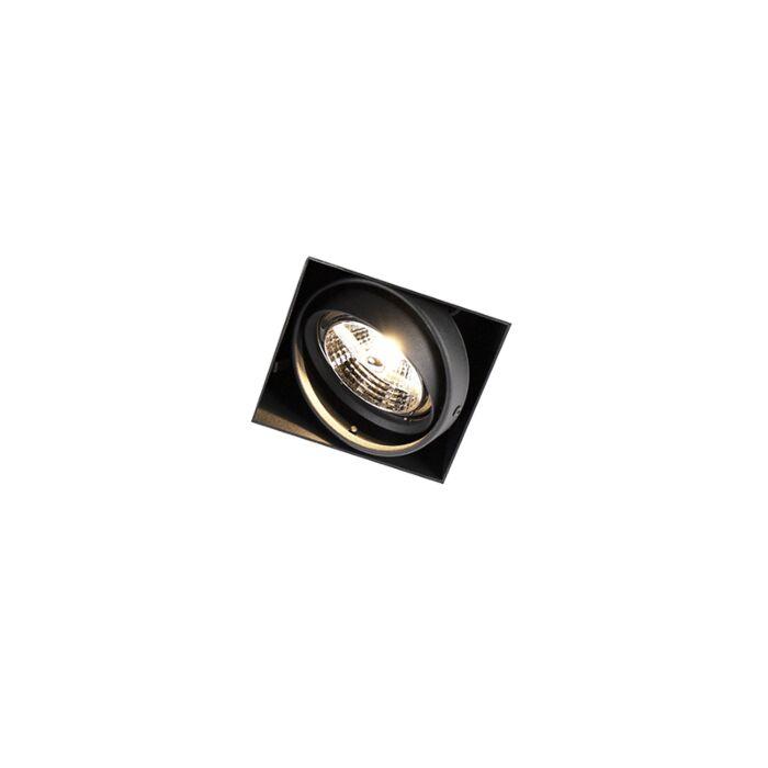 Foco-empotrado-negro-orientable-sin-marco-1-luz---ONEON-1-Trimless-AR70