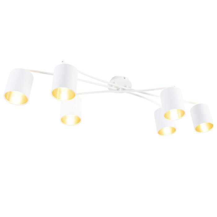 Plafón-moderno-blanco-6-luces---LOFTY-