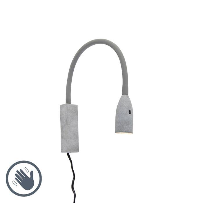 Aplique-diseño-gris-flexo-LED---LENTA