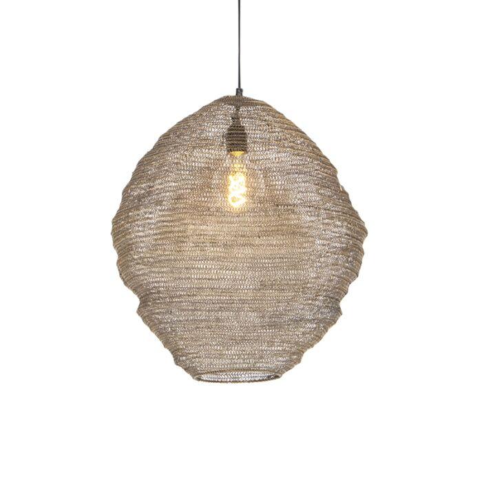 Lámpara-colgante-oriental-latón-46cm---NIDUM-Mena