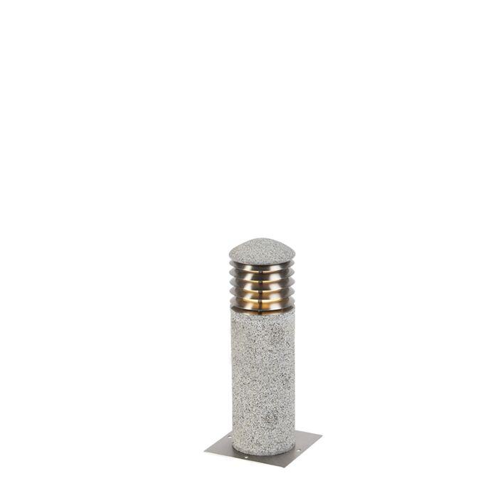Baliza-moderna-granito-40cm-IP44---HAPPY-