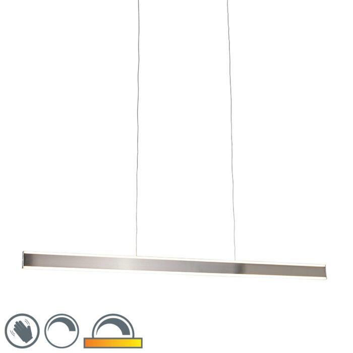 Lámpara-colgante-moderna-acero-140cm-2700-5000K-LED---OLLIE