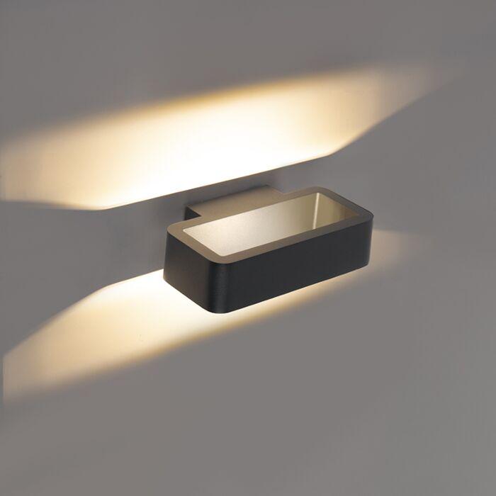 Aplique-diseño-gris-antracita-LED---VASSO-TRES