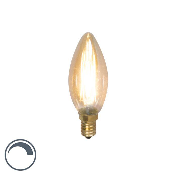 Lámpara-de-vela-de-filamento-LED-regulable-E14-3.5W-200lm-2100-K