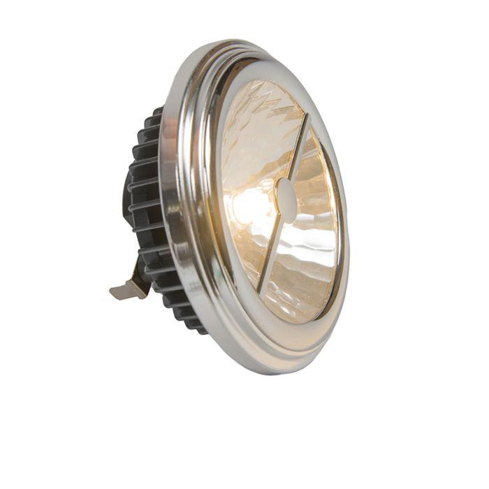 Bombilla-AR111-G53-15W-24°-reflector-blanco-cálido