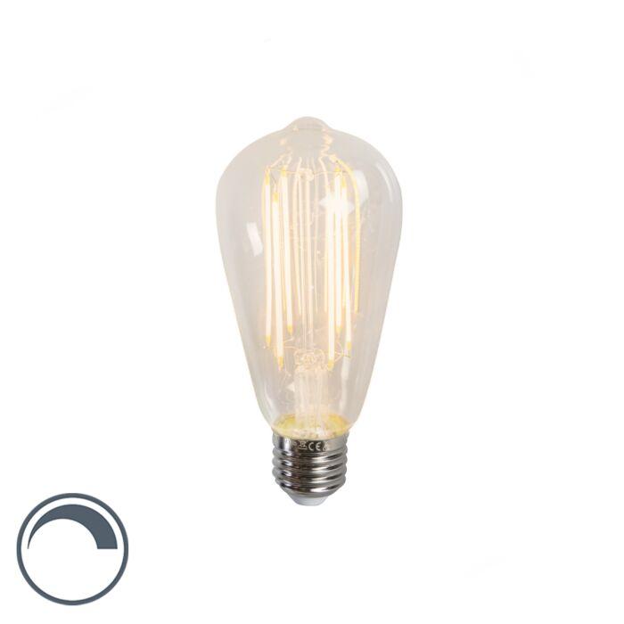 Bombilla-LED-E27-filamento-largo-4W-350LM-2300K-regulable