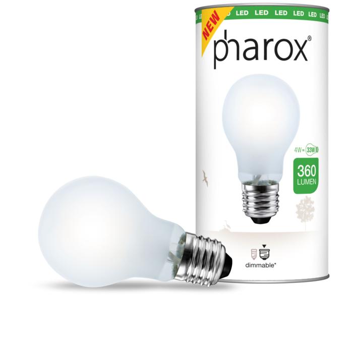 Bombilla-PHAROX-LED-filamento-4W-A60-mate-360lm