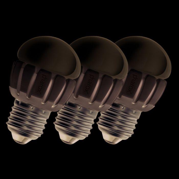 Set-de-3-bombillas-Pharox-LED-200-P45-E27-5W-230V