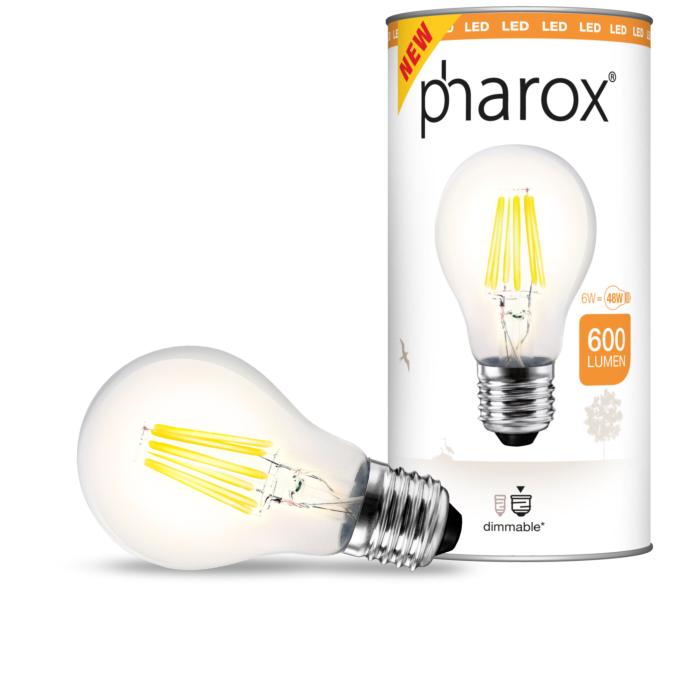 Bombilla-Pharox-LED-filamento-6W-A60-transparente-600lm