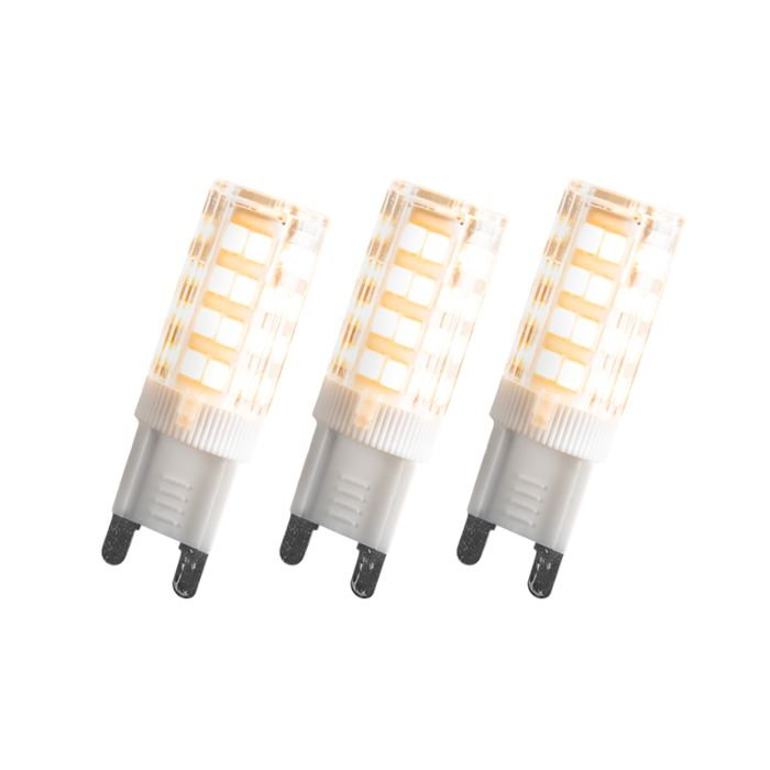 Set-de-3-bombillas-G9-LED-3,3W-280LM