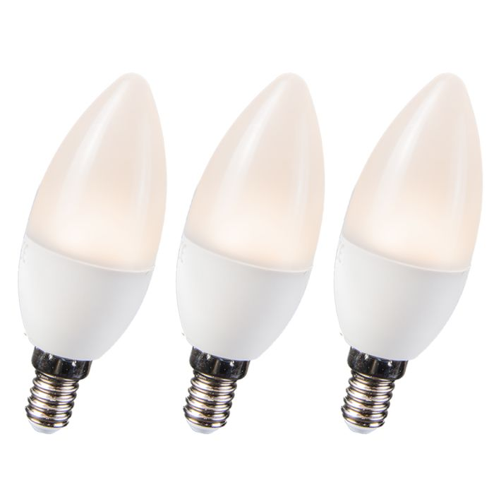 Set-de-3-bombillas-LED-3,5W-E14-C30-WW
