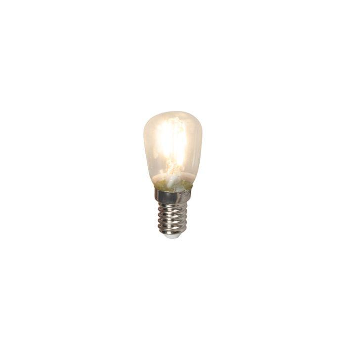 Lámpara-de-panel-de-filamentos-LED-E14-T26-1W-100lm-2700-K