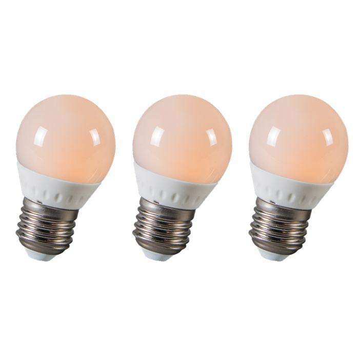 Set-de-3-bombillas-LED-E14-3W-250-lúmenes-(25W)