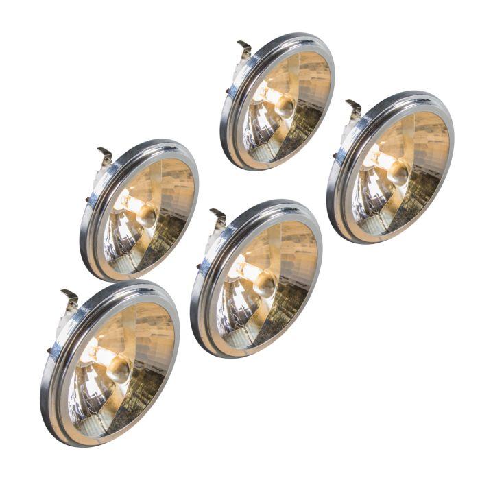 Set-de-5-bombillas-halógenas-G53-QR111-50W-12V