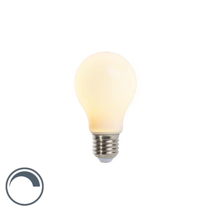 Lámpara-LED-regulable-E27-A60-mate-5W-410lm