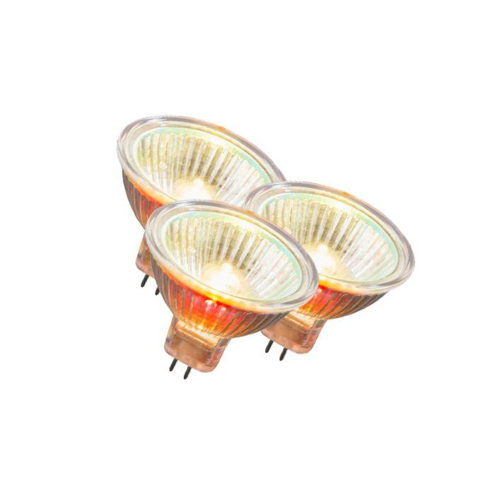 Set-de-3-bombillas-halógena-MR16-10W-12V