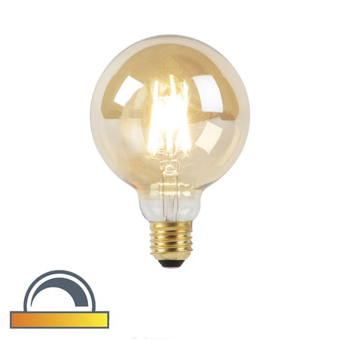 Bombilla-LED-G95-E27-8W-2000-2600K-filamento-GOLDLINE
