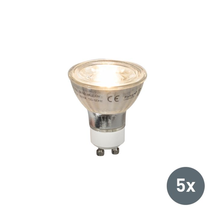 Set-5-bombillas-LED-GU10-COB-5W-380lm-2700K