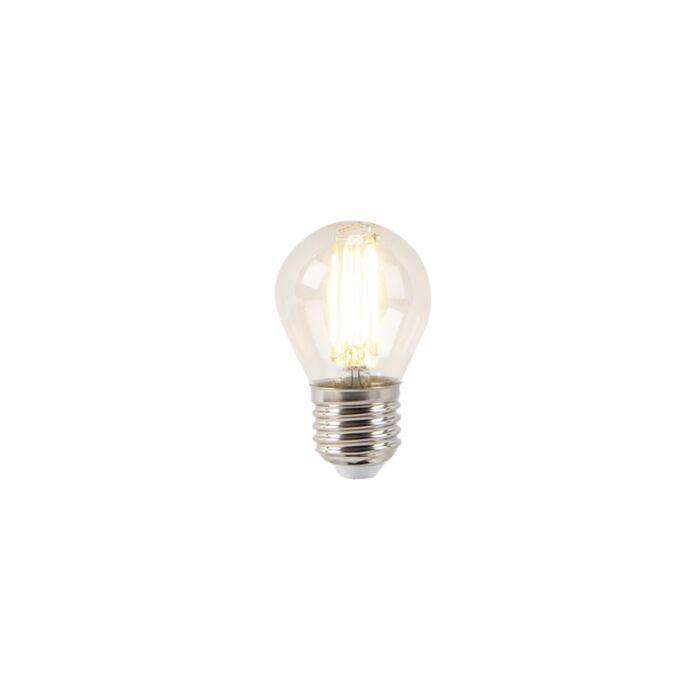 Lámpara-de-bola-LED-E27-P45-filamento-transparente-4W-400-lm-2700K
