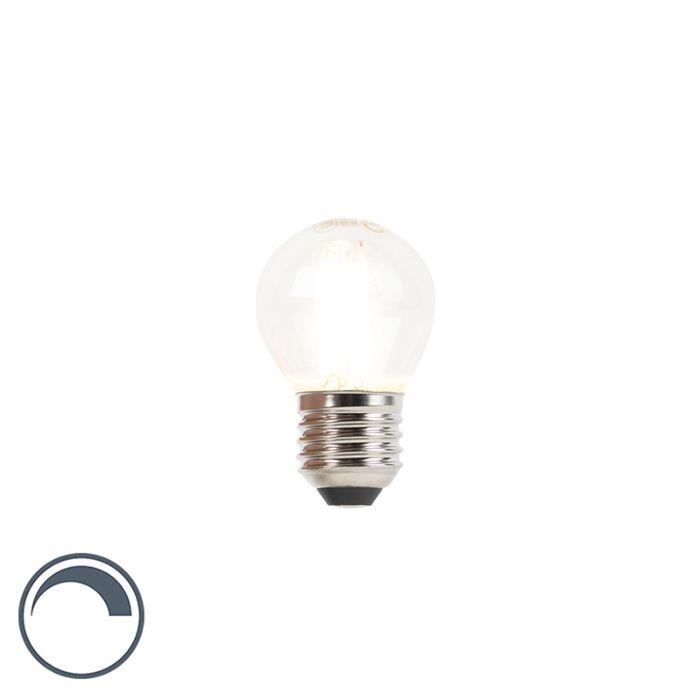 Bombilla-filamento-LED-esférica-E27-3W-350lm-regulable