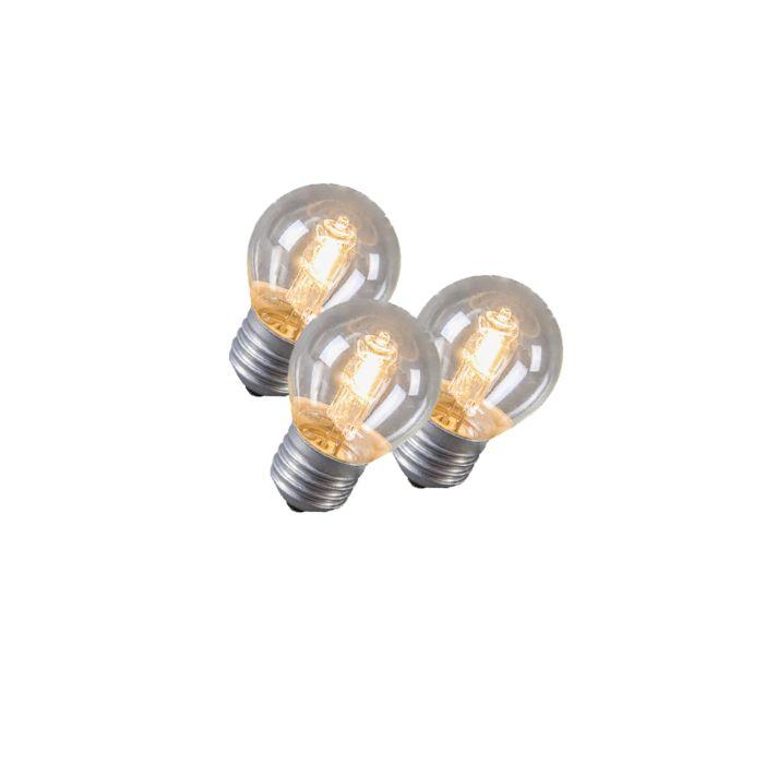Set-de-3-bombillas-globo-halógena-E27-42W