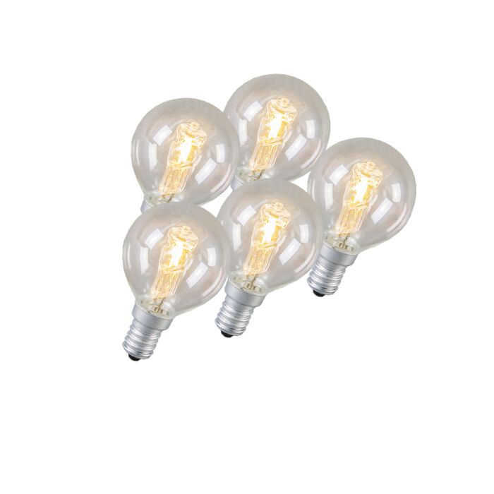 Set-de-5-bombillas-halógenas-E14-42W