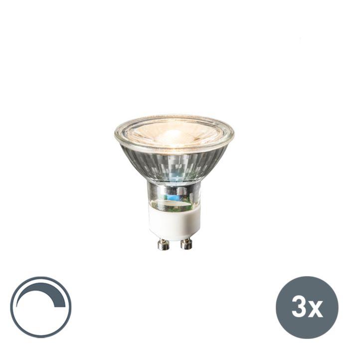 Set-de-3-bombillas-LED-GU10-6W-450lm-2700K-regulables
