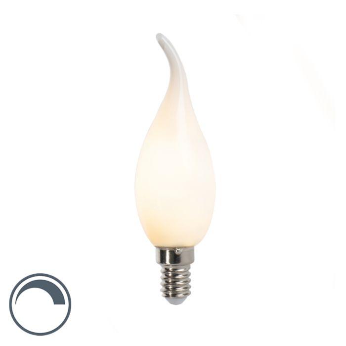 Bombilla-vela-LED-E14-3W-250lm-regulable-opalino