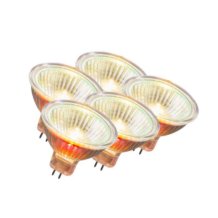Set-de-5-bombillas-halógenas-MR16-10W-12V
