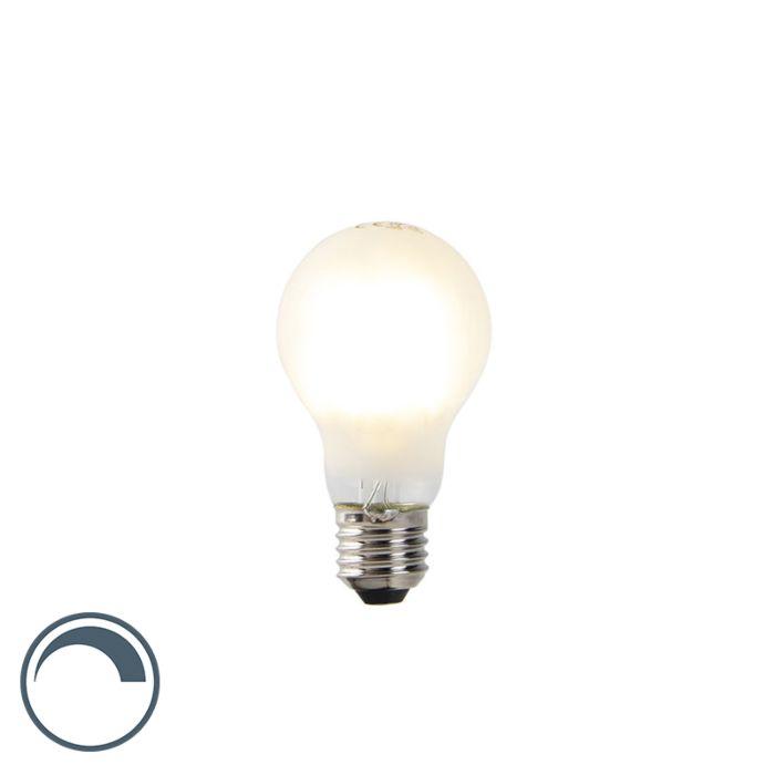 Bombilla-LED-E27-A60-7W-2700k-cristal-mate-filamento-regulable