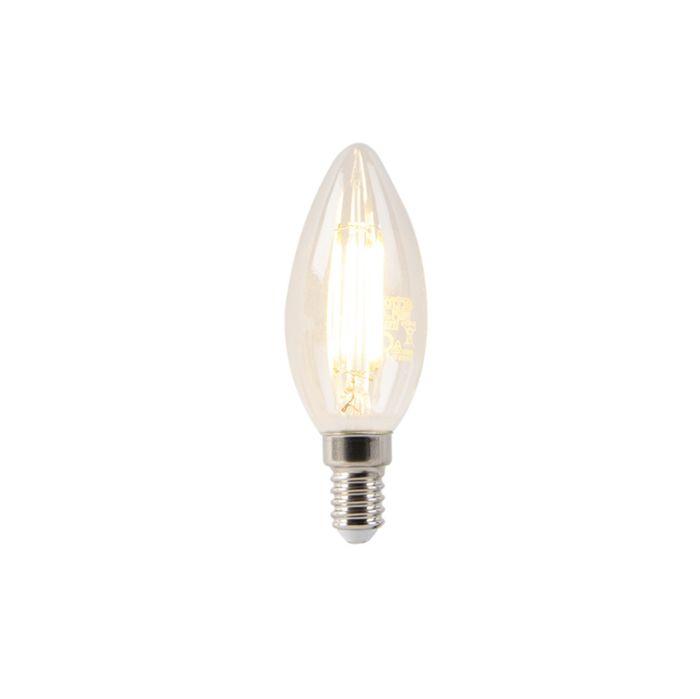 Bombilla-E14-vela-LED-filamento-4W-400LM-2700K