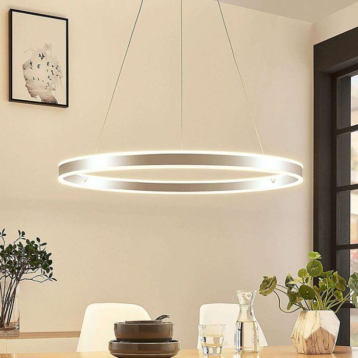 Moderne-hanglamp-chroom-80-cm-incl.-LED-3-staps-dimbaar---Lyani
