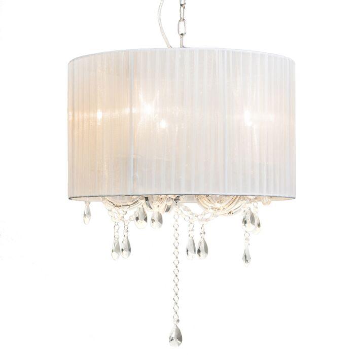 Lámpara-de-araña-MARIE-THERESA-5-blanca