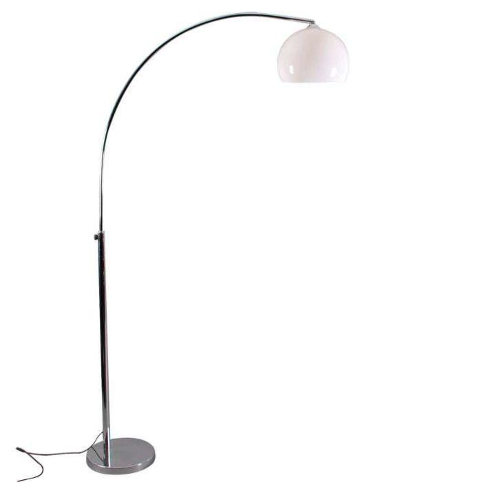 Lámpara-de-arco-pequeña-con-pantalla-blanca