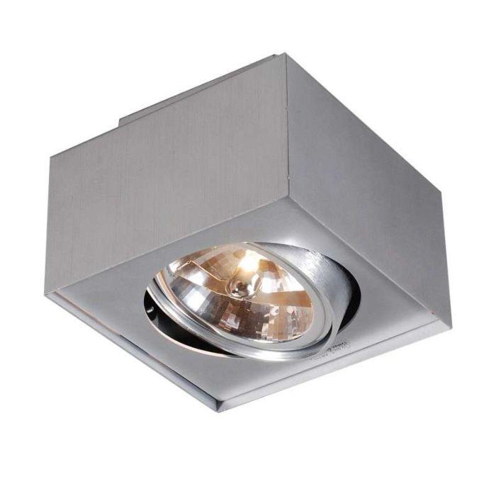 Plafón-BOX-111-aluminio