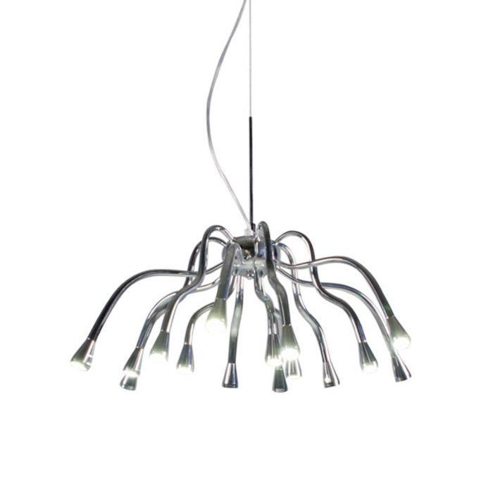 Lámpara-colgante-ANGELINE-LED-cromo