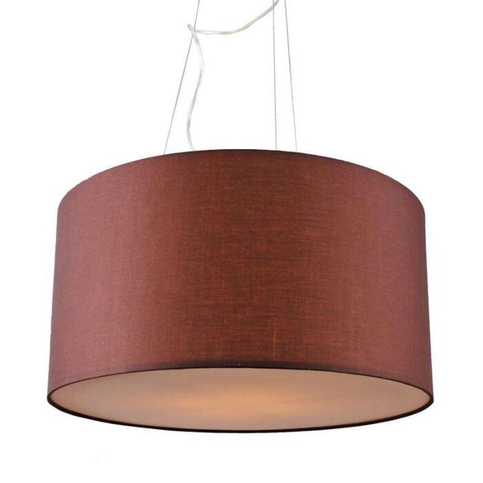 Lámpara-colgante-DRUM-60-marrón