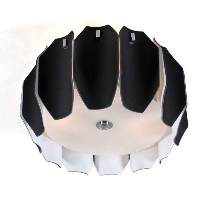 Plafón-Archo-40-negro-cromo