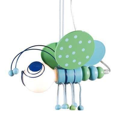 Lámpara-colgante-Kids-Bee-Groen