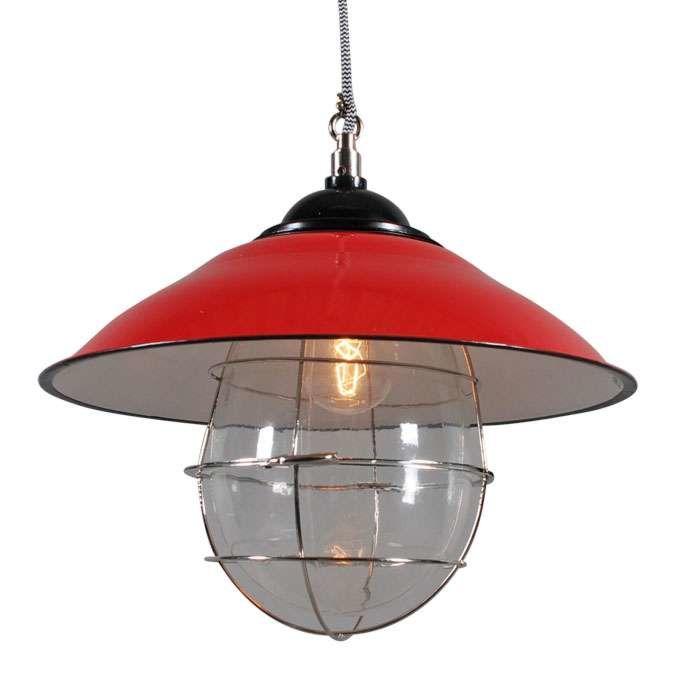 Lámpara-colgante-SKIPPER-rojo