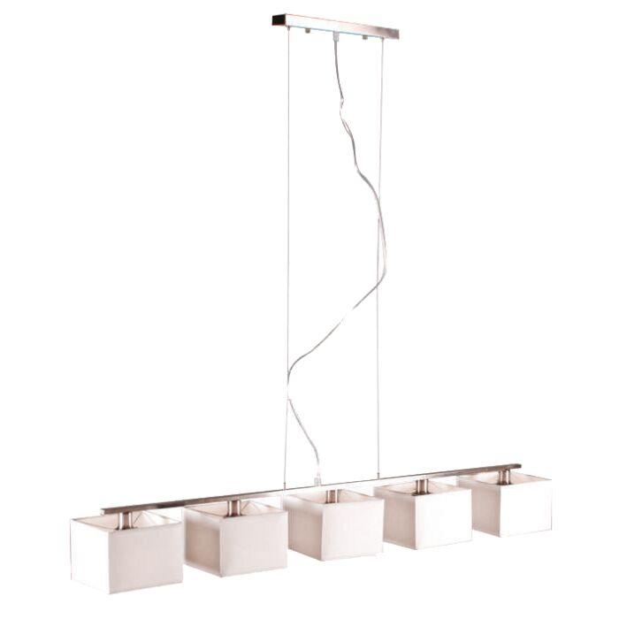 Lámpara-colgante-VT-5-blanca