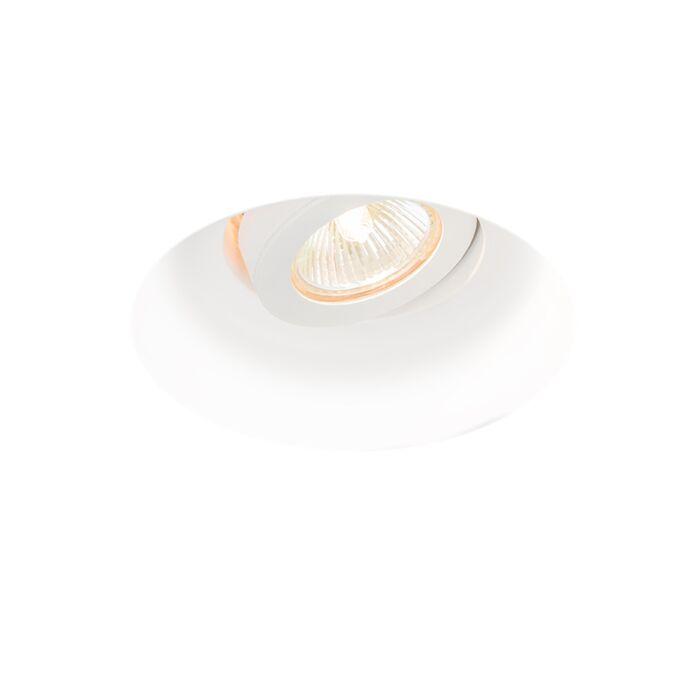 Foco-empotrado-moderno-orientable---GIPSY-ZERO-I