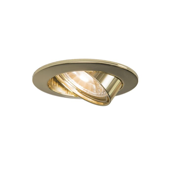 Foco-empotrado-redondo-orientable-oro---EDU