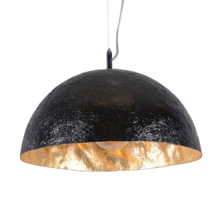 Lámpara-colgante-MAGNA-40-negro---dorado