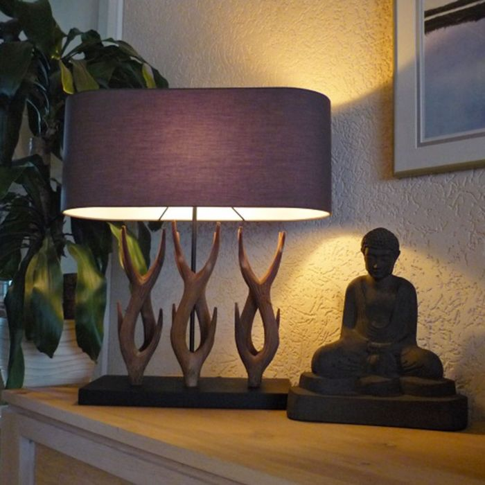 Lámpara-de-mesa-YINDEE-marrón
